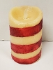 Moving Flame Flicker Pillar Candy Cane 5