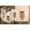 Nesting Tree Table Runner Cream