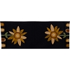 Sunflower Power Table Runner Black