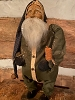 Primitive Arnett Santa In Green Union Suit Holding Candle
