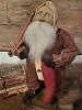 Primitive Arnett Santa In Brown Union Suit