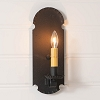 Apothecary Sconce in Textured Black