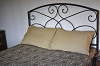 WAGON WHEEL KING BED COVER BLACK/TAN