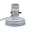 Cleveland Vintage Lighting™ Canning Jar Lamp Adapter - Silver - 7.5 feet