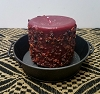 Cranberry Relish Pillar Candle 3 x 3