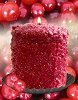 Hearth Candle - Cranberry Stardust