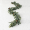 FROSTED ARBORVITAE GARLAND