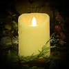 3×4 REAL LOOK FLAMELESS TIMER CANDLE-WINTER WHITE