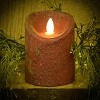 3×4 REAL LOOK FLAMELESS TIMER CANDLE-RED