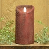 3×6 REAL LOOK FLAMELESS TIMER CANDLE-RED