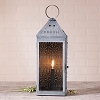 Tall Harbor Lantern in Weathered Zinc
