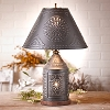 Tinner's Revere Lamp with Tin Shade