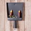 Old Fashioned Dust Pan Candle Sconce