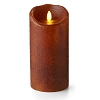 Luminara® Flameless Candle - Yam Country Pillar - 7 in