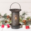 Mini Wax Warmer with Star Oval Design in Kettle Black