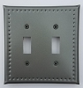 Tin Double Switchplate Border Punch
