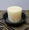 Snowdrifts Pillar Candle 3 x 3