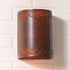 Winslow One Light Wall Sconce in Rustic Tin