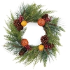 PINE WITH POMANDER WREATH