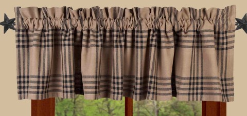 Chesterfield Check Valance