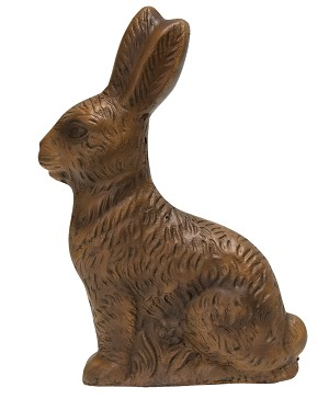 "Resin ""Chocolate"" Bunny - Large"