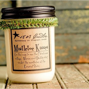 Mistletoe Kisses Soy Candle