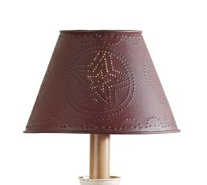 "6"" Red Star Shade"