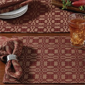 Campbell Coverlet Placemat - Wine