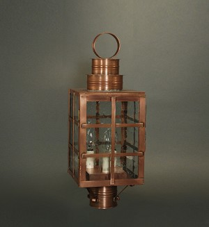 Shown in Antique Brass with Clear Glass (3 socket)