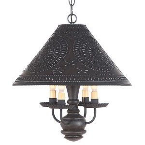 Homespun Shade Light in Black