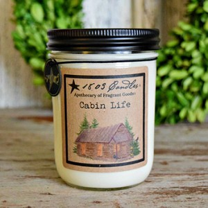 Cabin Life Soy Candle