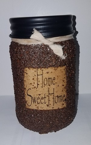 Home Sweet Home Cinnamon and Clove Jar Candle