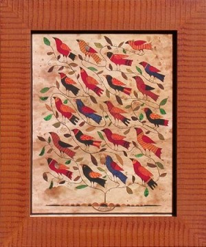 Bird Fraktur by Susan Daul