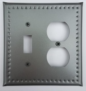 Tin Single Switch/Single Outlet Border Punch